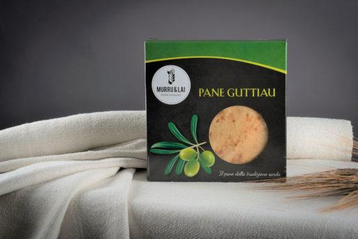 16 confezioni Pane Guttiau in scatola gr. 250