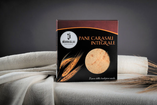 pane carasau integrale in scatola gr.250